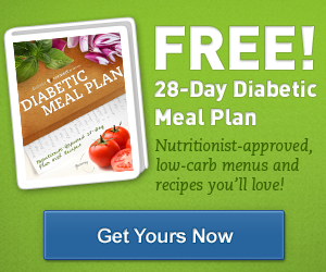 FREE 28-Day Diabetic Meal Plan...